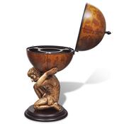 VIDAXL globus bar kabinet za vino Atlas 42x85 cm