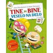 otroška knjiga Tine in Bine veselo na delo