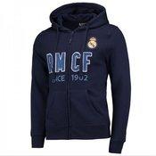 Real Madrid zip jopica s kapuco N°2, S, modra