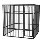 VIDAXL vanjski kavez za pse 195x195x195, cmi