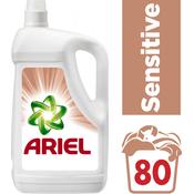 Ariel tekući deterdžent Sensitive, 80 pranja