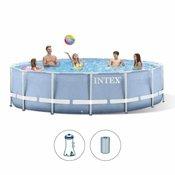 Intex bazen Prism Frame s metalnom konstrukcijom 366 x 76 cm - 26712NP