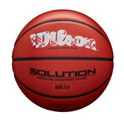 Wilson FIBA SOLUTION HKS CROATIA, košarkaška lopta, narancasta