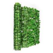 Blumfeldt FENCY BRIGHT Leaf, svjetlozelena, zaštitna ograda, privatnost i zaštita od vjetra, 300 x 100 cm