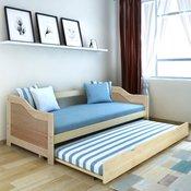 VIDAXL izvlečna postelja/kavč (200x90cm)