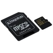 KINGSTON memorijaska kartica MICRO SDHC 16GB SDCA10/16GB + SD ADAPTER