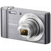 SONY digitalni fotoaparat DSC-W810S srebrn