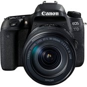 CANON D-SLR fotoaparat EOS 77D + objektiv 18-135 (Cashback)