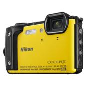 Nikon Coolpix W300 fotoaparat Holiday komplet z ovitkom, rumen