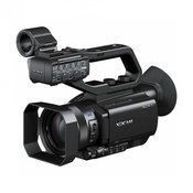 Sony PXW-X70 C Compact Solid State Memory Camcorder  - Sony PXW-X70 C Compact Solid State Memory Camcorder  PRODUCT HIGHLIGHTS  1 Exmor R CMOS Sensor HD Recording Built-In SD Media Card Slots Viewfinder  Flip-Out LCD Screen XAVC AVCHD DV File Based Recording Slow  Quick Motion 3G-SDI  HDMI Output Wireless LAN Control Planned Upgrade To UHD 4K  Sonys PXW-X70 Professional XDCAM Compact Camcorder is