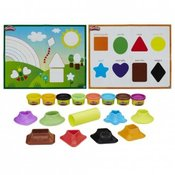 Plastelin Hasbro Play-Doh Shape and Learn Colors and Shapes B3404