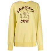 UNDERCOVER - Sadness Sue print sweatshirt - women - Yellow