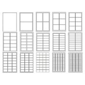 NALEPNICE PLANET 47.5×25.4 100 LISTA