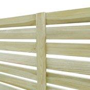 VIDAXL vrtni ograjni panel iz impregnirane borovine, 180x180cm