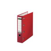 Leitz Double Mechanism Folder Plastic Red 10120025