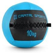 Wallba 10, 10 kg, temno modra, wall ball (medicinka) iz umetnega usnja (FIT20-Epitomer)