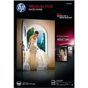 CR675A - HP Premium Plus Semi-gloss Photo Paper, 300 gsm, 20 listova, A3 (297 x 420 mm)