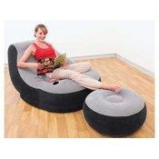 INTEX fotelja s tabureom LOUNGE 68564