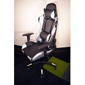 Gaming Chair e-Sport DS-122 Black/Silver (PU,PVC)