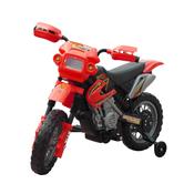 vidaXL Djecji elektricni crveni motocikl