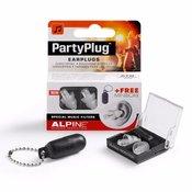 Čepki za ušesa Alpine PartyPlug transparent