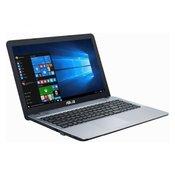 ASUS X541NA-GO123 15.6 Intel N3350 Dual Core 1.10GHz (2.4GHz) 4GB 500GB srebrni