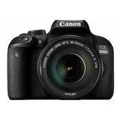 Canon EOS 800D + 18-135 IS USM NANO DSLR Camera with lens digitalni fotoaparat i objektiv EF-S 18-135mm f/3.5-5.6