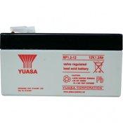Yuasa Olovni akumulator 12 V 1.2 Ah Yuasa NP1.2-12 olovno-koprenasti (AGM) (Š x V x D) 97 x 55 x 48 mm plosnati utikač 4.8 mm bez održ