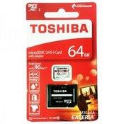 Toshiba 64GB M302 microSD kartica sa SD adapterom ( MCT64GAU3 )