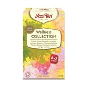 Yogi čaj Wellness Collection 6x3 okusi - Yogi Tea, 33 g