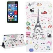 MICROSOFT kožna torbica Palettes sweet streets za Lumia 535