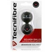 Absolute squash žogice Tecnifibre 2 pack - rdeea pika