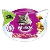 72g Whiskas Vitmain E-xtra +20% več vsebine prigrizki za mačke