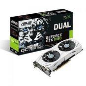 ASUS grafična kartica GTX1060 3GB Dual OC GDDR5 (DUAL-GTX1060-O3G)