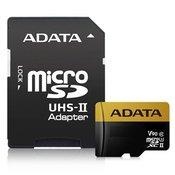memorijska kartica ADATA, micro SDXC, 128 GB, AUSDX128GUII3CL10-CA1, UHS-II U3, Class 10 + adapter