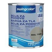 Swingcolor boja za podove 2u1 boja betona, 750 ml