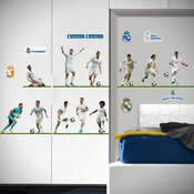 REAL MADRID NALEPKE STENSKE 11 PLAYERS A3 2 LISTA
