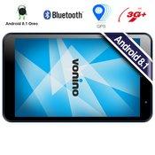 Tablica 8 VONINO Pluri M8, IPS 1280x800, 2GB+16GB+MicroSD do 128GB, Android 8.1 Oreo, 3G+, GSP navigacija, temno siva