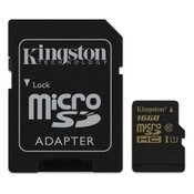 UHS-I MicroSDHC 16GB + Adapter SDCA10/16GB