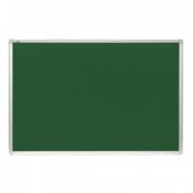 2X3 oglasna tabla - TTA456 Tabla za oglašavanje, 45 x 60 cm, Filc, aluminijum, Zelena