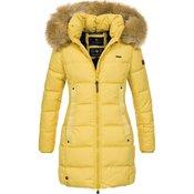 NAVAHOO ženska zimska jakna QUITSCHEENTE, rumena