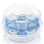 AVENT mikrovalovni parni sterilizator z otroškimi stekleničkami SCF282-02