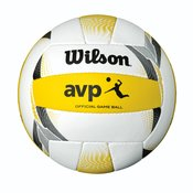 Wilson AVP II OFFICIAL GAME BALL, odbojkarska žoga, bela