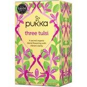 Pukka Three Tulsi, ekološki čaj, 20 vrečk
