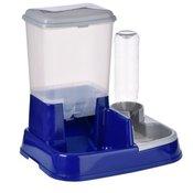 ZOOPLUS avtomatski napajalnik in krmilnik 2v1-5,0 l suha hrana + napajalnik