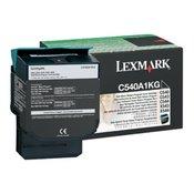Lexmark C54x, X54x Black Return Programme toner Cartridge (1K)