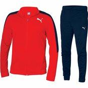 Puma Otroška trenirka Large Logo Tricot Suit Rdeča