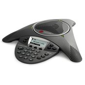Polycom SoundStation IP 6000 (SIP) conference phone. 802.3af Power over Ethernet. Expandable. Includes 25ft/7.6m Cat5 shielded Ethernet cable. Does not include China, Russia. (2200-15600-001)
