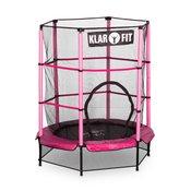 KLARFIT trampolin Rocketkid, 140 cm, rozi