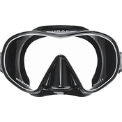 Scubapro Mask Solo - Sil. Black - Black/White
